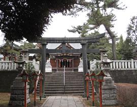 Le sanctuaire Ippeizukainari-jinja
