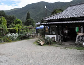 石磨荞麦面条 古代村