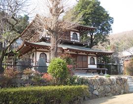 Le temple Hôraku-ji