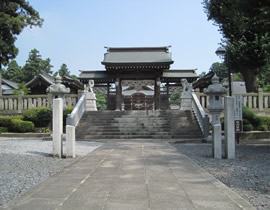 Le sanctuaire Shirasagi-jinja