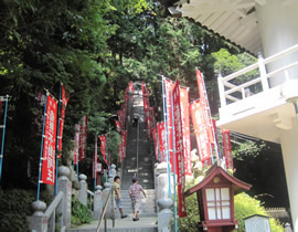 Le temple Tagesan-Fudôson