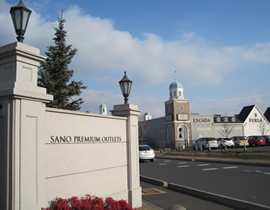 Le centre commercial Sano Premium Outlet