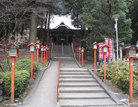 Le temple Mangan-ji du Mont Izuru