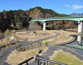 Higashi Arakawa River Dam Water Park
