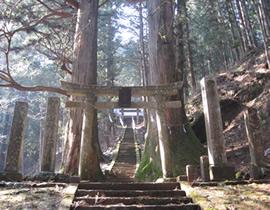 Le sanctuaire Kasoyama-jinja