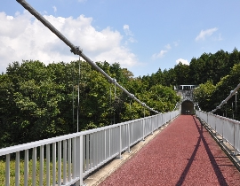 Ogane Suspension Bridge