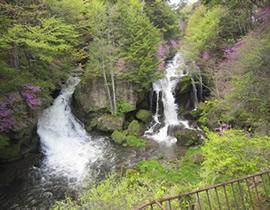Ryuzu no Taki Falls
